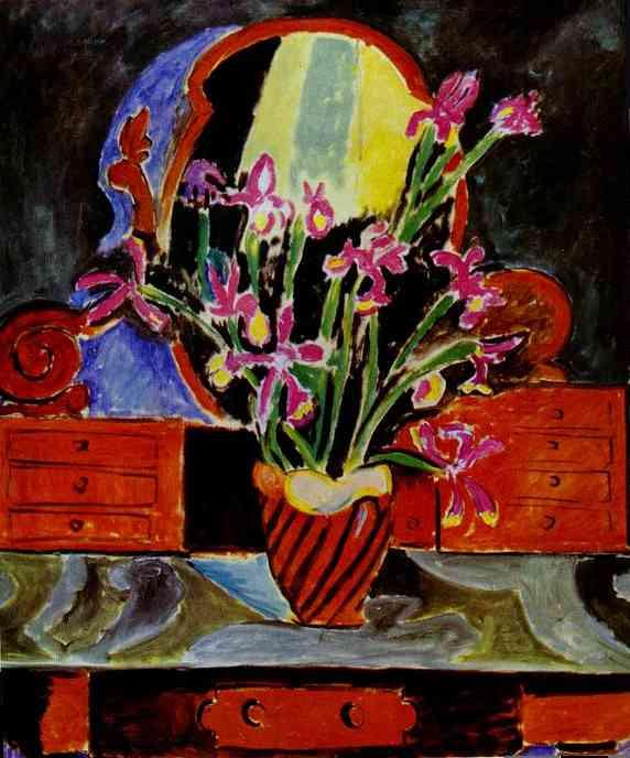 Vase of Irises, 1912